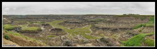Panorama: Horseshoe Canyon # Kanada